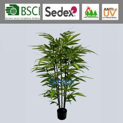 120см черной соединительной линии бонсай герметизированное против ультрафиолетового излучения для использования вне помещений бамбук дерева искусственных растений для украшения (51408)