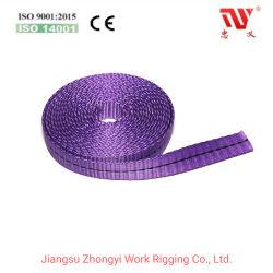Textilband Man-Made Fibers Flachgewobene Gürtel Polyester Halbfertig Sling