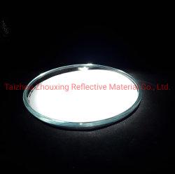 Высокая световая серебристый алюминий серого стекла с покрытием Microspheres валик клея