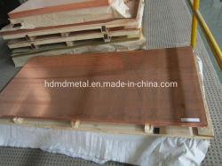 MD personalizados de metal 99.99 puro de cobre de bronze de folha de metal