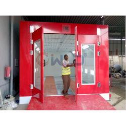 Wld9000au Sala de pintura para el horno de cabina de pintura para coches