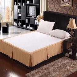 100%년 폴리에스테 호텔 침대 자수 치마 (DPH6099)