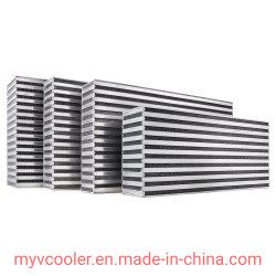 기름 냉각기와 Intercooler를 위한 알루미늄 격판덮개와 바 방열기 코어