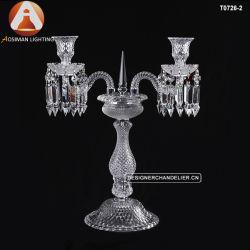 De Kandelabers van het Kristal van het Baccarat van de Decoratie van het huwelijk