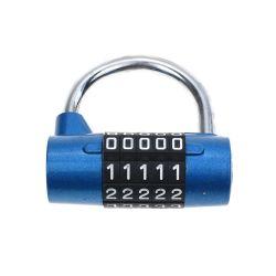 Yh1477 여행 부속품 4 손가락 조합 패스워드 수화물 부호 자물쇠 소형 여행 가방 통제