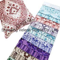 Le Maroc style velours polyester jacquard avec effet à deux tons Sellerie tissu pour le mobilier canapé couvrir
