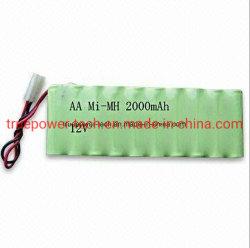 장난감 및 에어소프트 건용 12V 2000mAh RC 니켈 수소 배터리