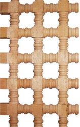 木製の区分かディバイダの木製の回転および棒