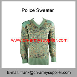 Camouflage Vest-Camouflage Shirt-Camouflage Uniform-Camouflage Suéter Pullover-Military