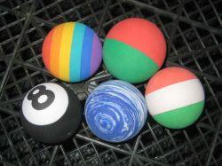 Bola de espuma, Antena Ball Topper