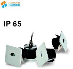 Beleuchtet Minides flur-IP20&IP65 Wand-Jobstepp Fuss-Lampen-Ecken-Licht vertiefter Treppen-des Licht-LED 3W Inneninnen- und im Freiengebrauch