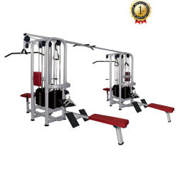 Multi-Jungle 8-Stack Hammer Strength Commercial Fitness Equipment Gym