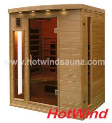 2019 Sauna Infrarrojo Lejano Sauna Portátil para 3 personas (SEK-CP3).
