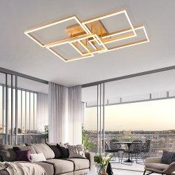 알루미늄과 아크릴 현대 샹들리에 LED 펀던트 천장 빛