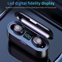 Mini auricular Bluetooth inalámbrico Airdots Sports Unlimited en oído oído único y doble Universal con Super largo Standby