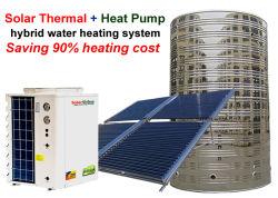 11-100 квт коммерческих и солнечный водонагреватель водонагреватель со встроенным тепловым насосом с оцинкованный лист материал корпуса и нержавеющая сталь