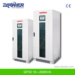 Zeer Efficiënte 415V Input/Output Industrial Online UPS 20kVA