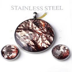 مجوهرات الأزياء مجوهرات الأزياء مجموعة مجوهرات من الصلب المقاوم للصدأ عقد الدندل