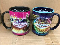 23oz Mug de cerámica, Las Vegas Mug de cerámica, souvenirs, artesanía Turismo Cotta, 23oz taza grabado