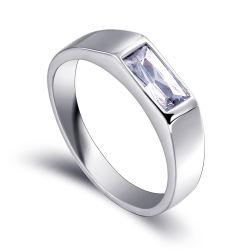 De imitatie Man Trouwring van de Juwelen van de Diamant