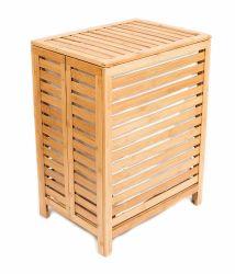 De fijne Vouwende Manden van de Opslag van het Bamboe van de Wasserij van het Bamboe met Verwijderbare Voeringen