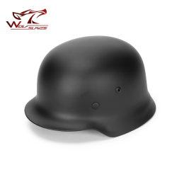 高品質Ww2のドイツのエリートM35の鋼鉄ヘルメットのCSの軍隊のLuftwaffeの鋼鉄ヘルメットの軍事訓練の野外活動の安全ヘルメット