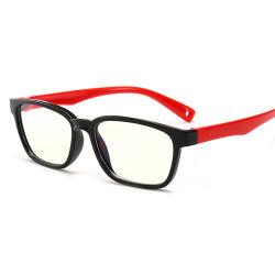 レンズを妨げる反青は環境材料のシリコーンフレームの賭博ガラスのコンピュータの接眼レンズを2019の新しいフレームからかう