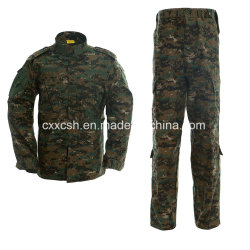 Camuflagem de Floresta Digital Vestuário militar da ACU