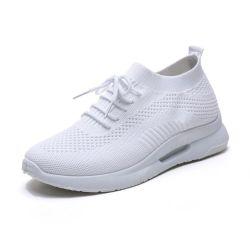 Повседневный спортивную обувь женщины мужчины летом удобные воздухопроницаемой сеткой грани женского пола платформы кроссовки