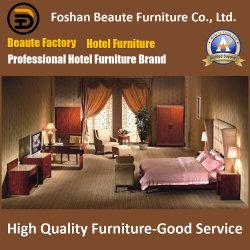 Diseño de 2020 madera con barniz laca personalizado Hotel Cama Tamaño King establece (GLB-021)
