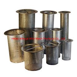 Нержавеющая сталь 304 провод сетка фильтра воды цилиндр