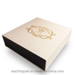 L'aimant Premium Boîte rigide Boîte en carton à l'emballage à chaud logo estampillage