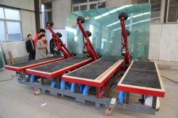 Carga automática de cristal de aire manual de la mesa de corte