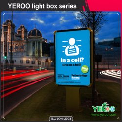 Light Box - Light Box in piedi - Light Box per pubblicità Display