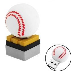 Tutti i generi di azionamento dell'istantaneo del USB del USB di serie della sfera di sport aprono la sfera di golf bianca di modello di tennis con l'abitudine bassa del disco di U