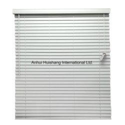 O PVC Faux Wood Mini Venetian cego como cortinas de janela