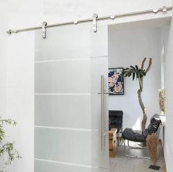 Лучший выбор продуктов 6,6 футов современный интерьер из нержавеющей стали боковой сдвижной двери из дерева фейрли оборудования контакт установлен
