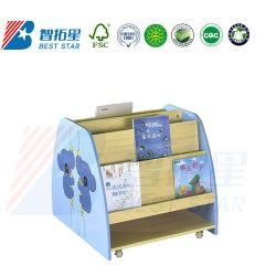 Детские сады и дошкольные мебель, рисованные детей в книжном шкафу полочные, школьной библиотеке книги для установки в стойку, детская игровая площадка, включая деревянные дисплей детей книжной полке для хранения