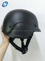 Prueba de balas de estilos de aramida Casco Pasgt táctico militar casco antibalas