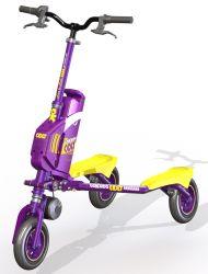 Trikke Adolescent E-Scooter électrique 3 Roue Véhicule Sculptant Pliable