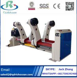 La série de machine d'emballage carton : Support du rabatteur hydraulique (Shaftless)