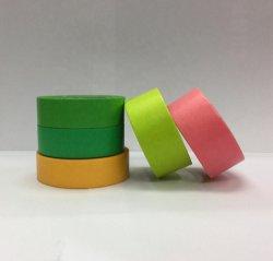 Ruban de marouflage papier crêpe avec Rainbow couleur
