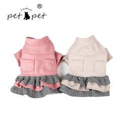 디자이너 개 의복 스웨터 작은 애완 동물 당은 니스 개 옷을 단순히 입는다