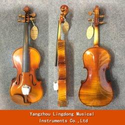 4/4 di violino acustico naturale 100% del violino con la colofonia dell'arco di caso