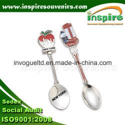 Recuerdo una cuchara de metal moderno para las colecciones cuchara de café personalizado