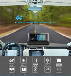 """E02 8 """" 4G de Androïde Camera van de Auto DVR van Adas van de Spiegel van de Videorecorder van de Auto van WiFi 1080P"""