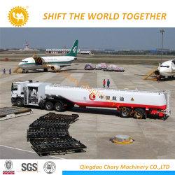 Tráiler de reabastecimiento de combustible jet para el puerto de Reabastecimiento Aéreo Avión usa