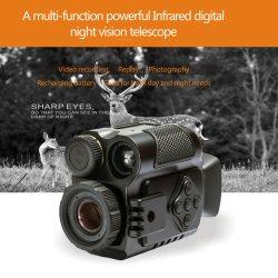 Monocular visión nocturna infrarroja rifle de caza alcance P4#