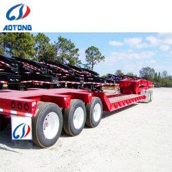 Aangepast 3 Semi Aanhangwagens van Lowbed van Assen, de Lage Afmetingen van de Aanhangwagen van het Bed voor Verkoop