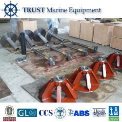 Système de gouvernail bateau personnalisé/gouvernail hélice Stock/gouvernail de direction